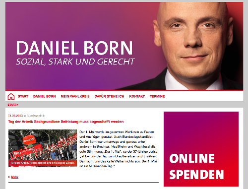 Screenshot daniel-born.de